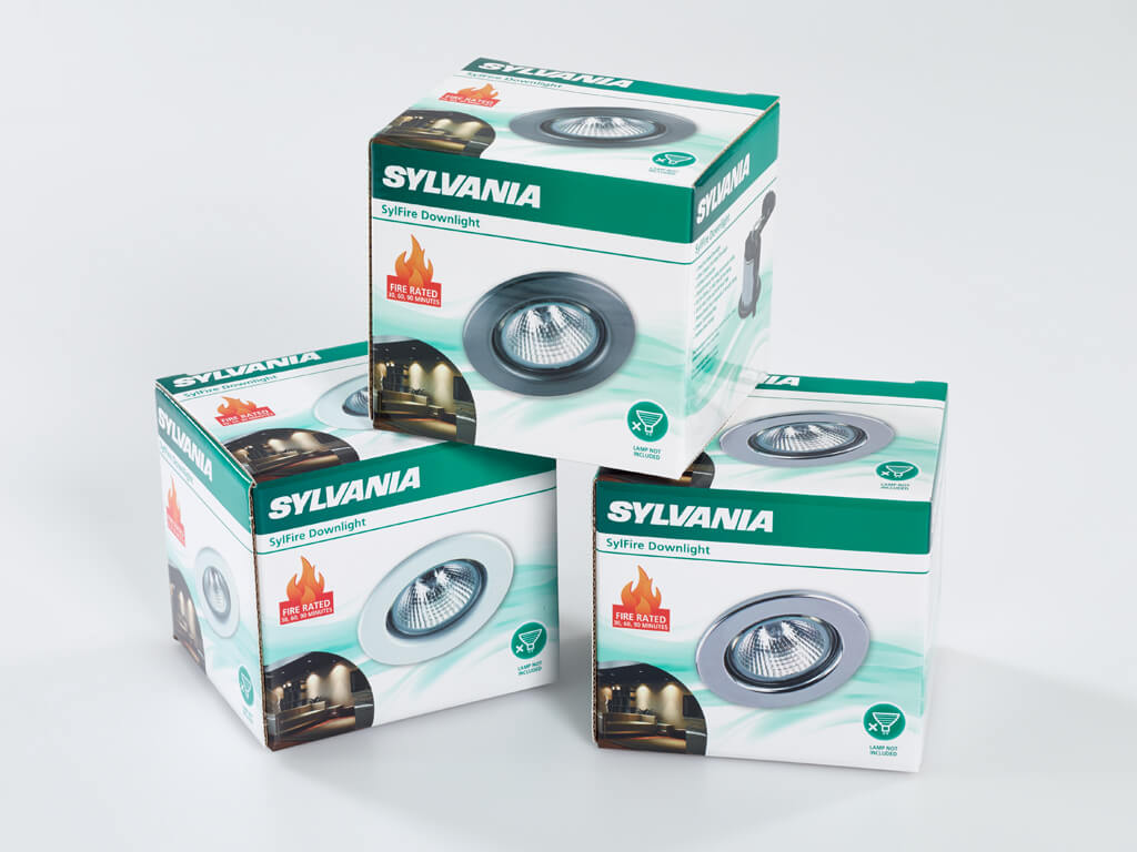 Sylvania packaging