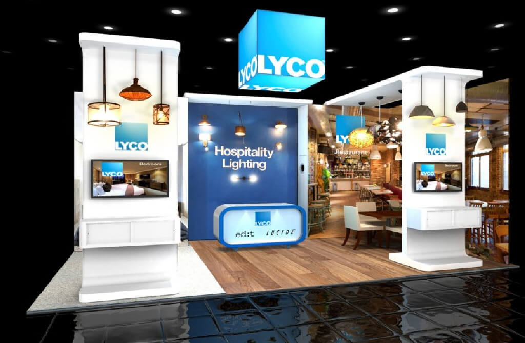 LycoStand exhibition stand design
